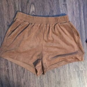 Forever21 Faux Suede Short